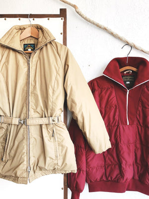 Vintage Bauer Down Puffer Coat