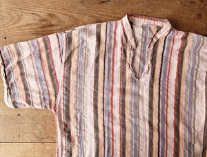 Vintage Striped Cotton Top