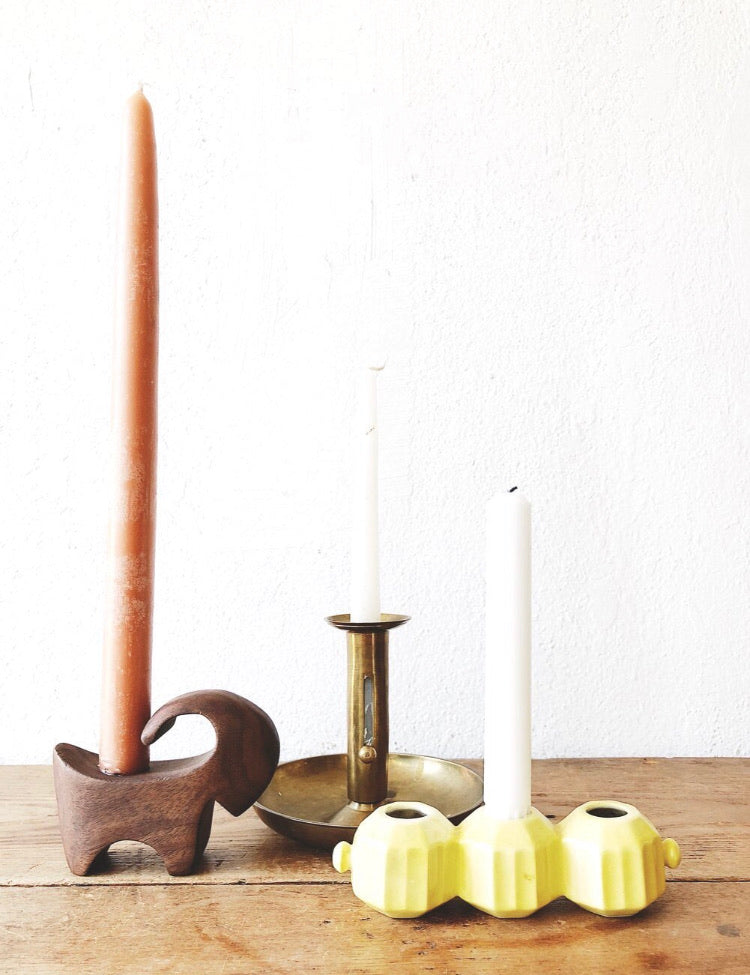 Vintage Retractable Candlestick