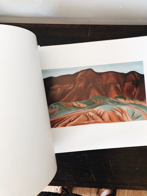 Georgia O'Keefe Art Book 'Into the West'