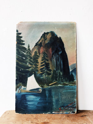Antique Oil Landscape Paintings