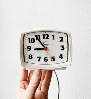Vintage Equity Electric Alarm Clock