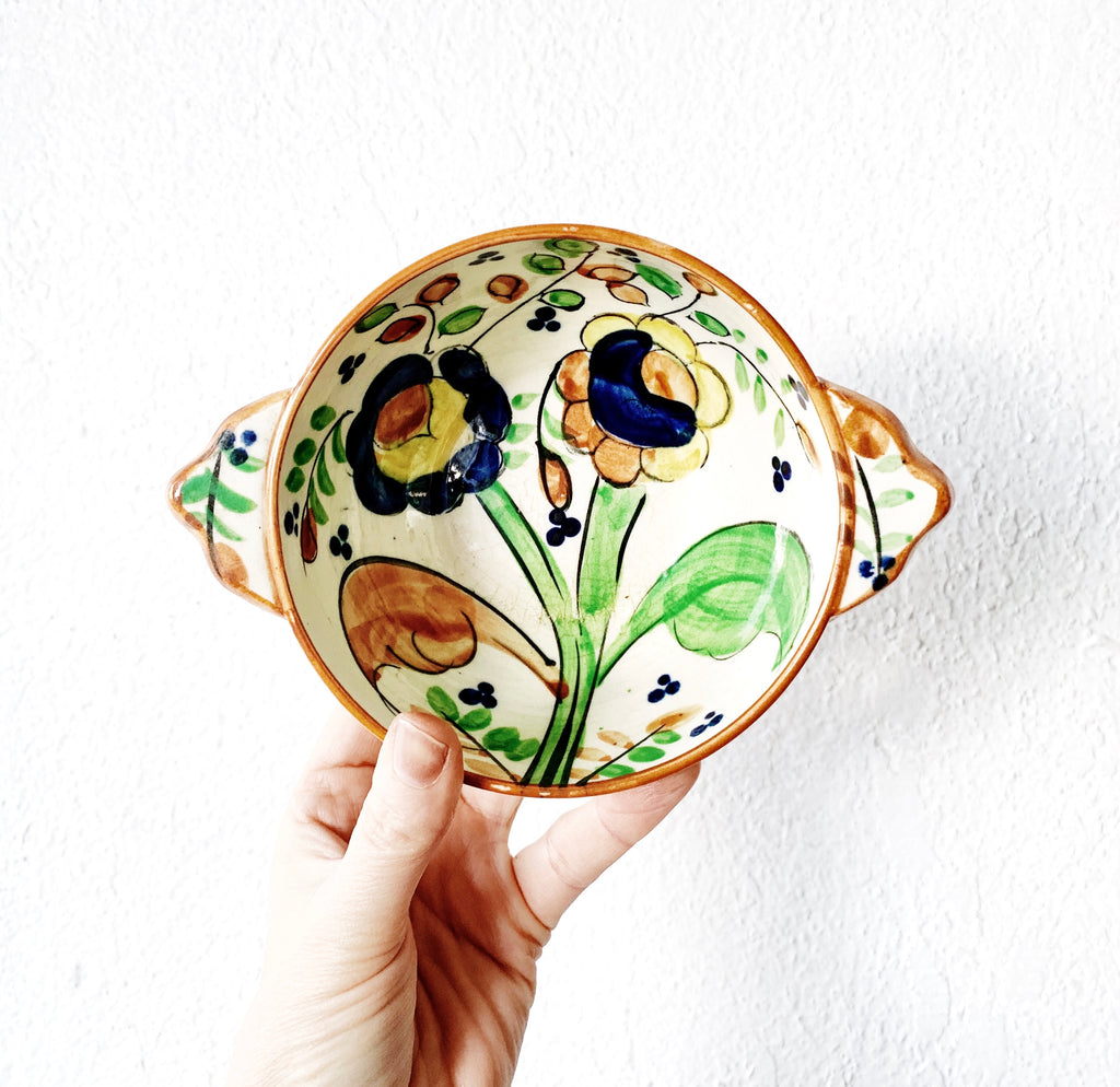 Vintage Hand Painted Ceramic Dish made in Japan