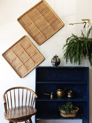 Large Vintage Wall Baskets