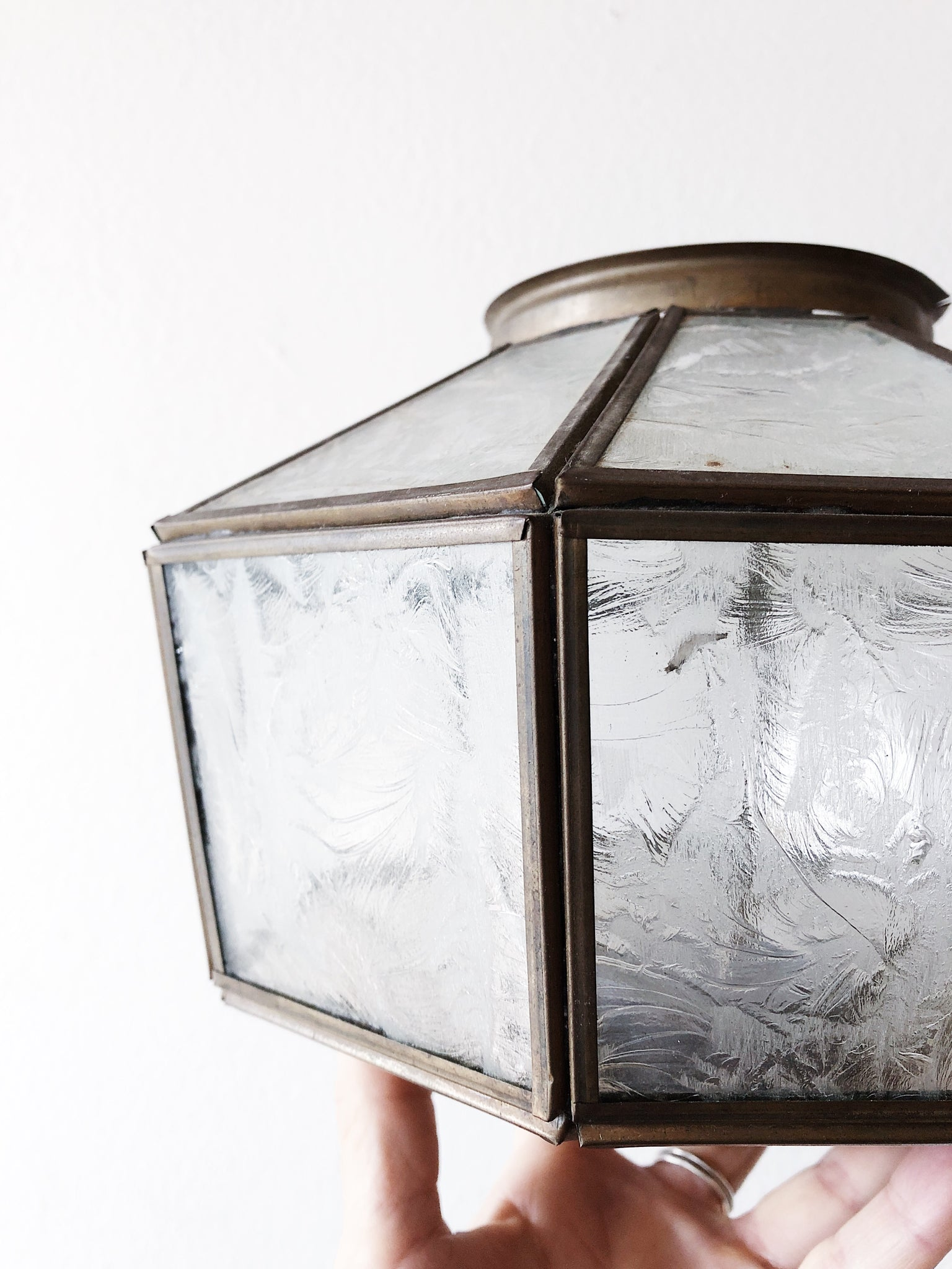 Vintage Geometric Light Shade