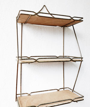 Vintage Mid Century Shelf