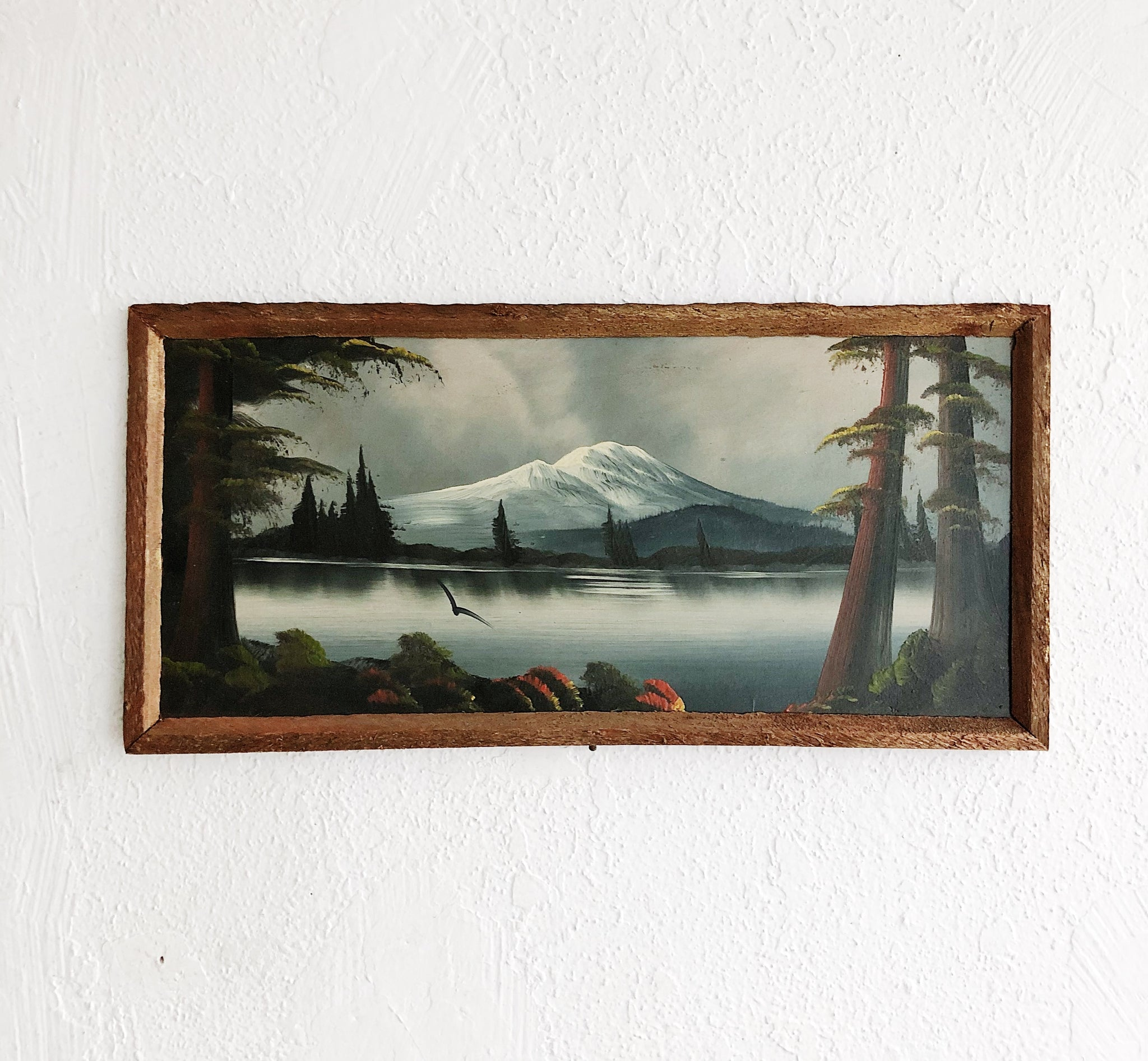 Vintage Moody Landscape Painting