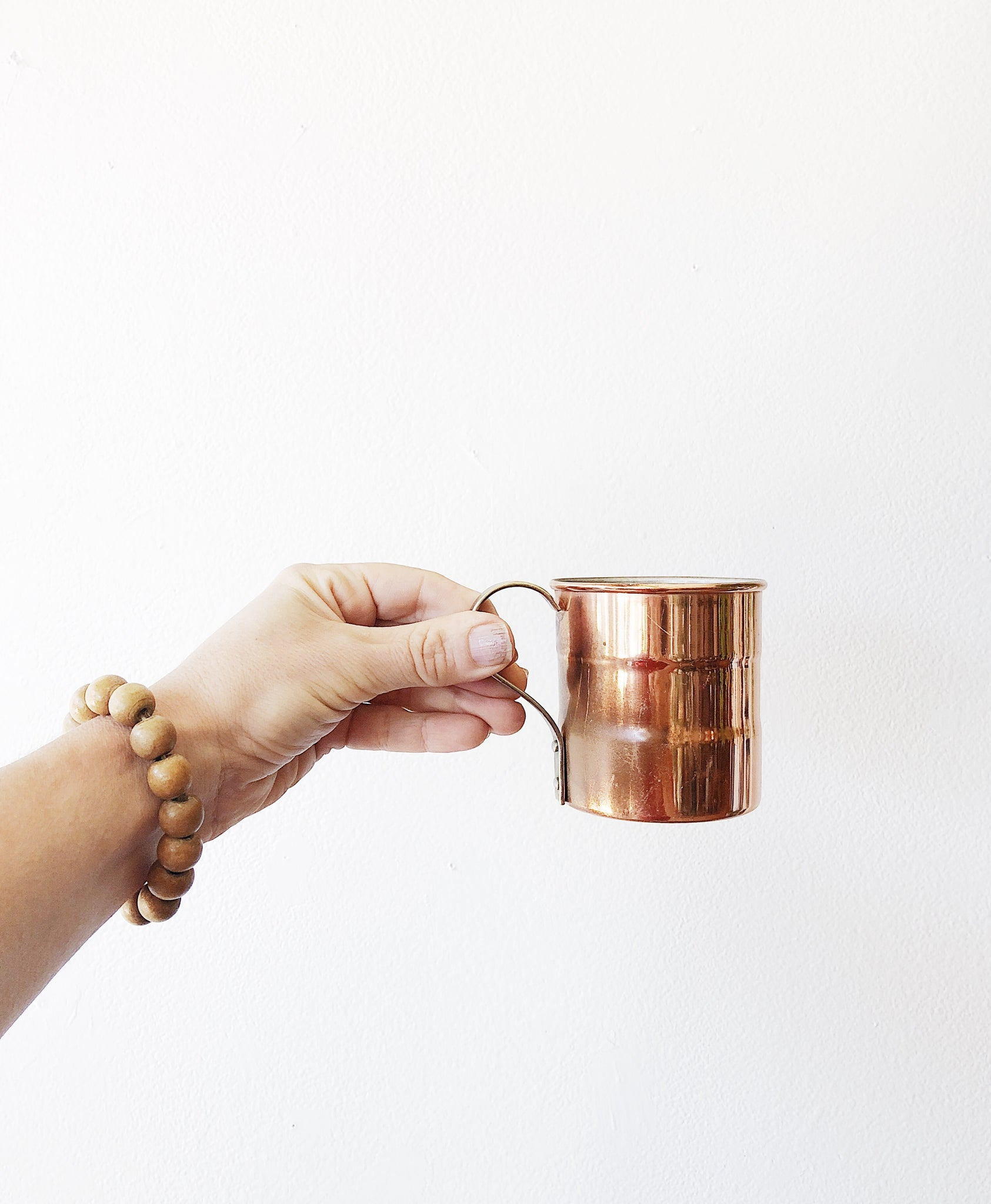 Vintage Copper Mug Set