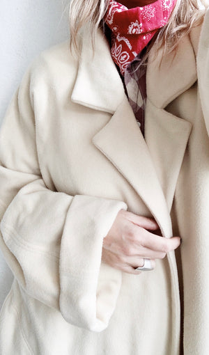 Long Expertly Handmade Cashmere Coat