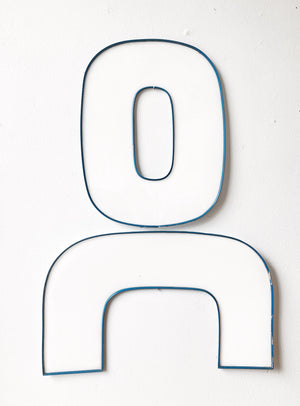Vintage Lucite Sign Shapes