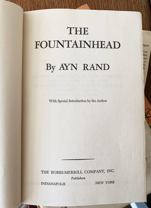 Vintage Ayn Rand Hard Cover