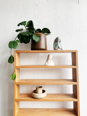 Vintage Oak Shelf