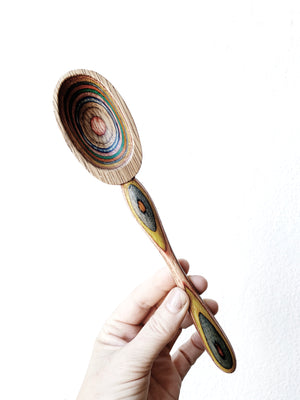 Hand Painted Wood Spoon