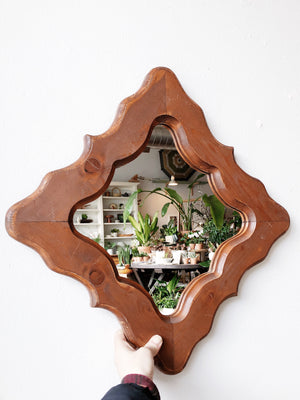 Vintage Moroccan Influenced Mirror