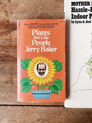 Vintage Plant Care Books