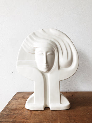 Ceramic Art Nouveau Sculpture