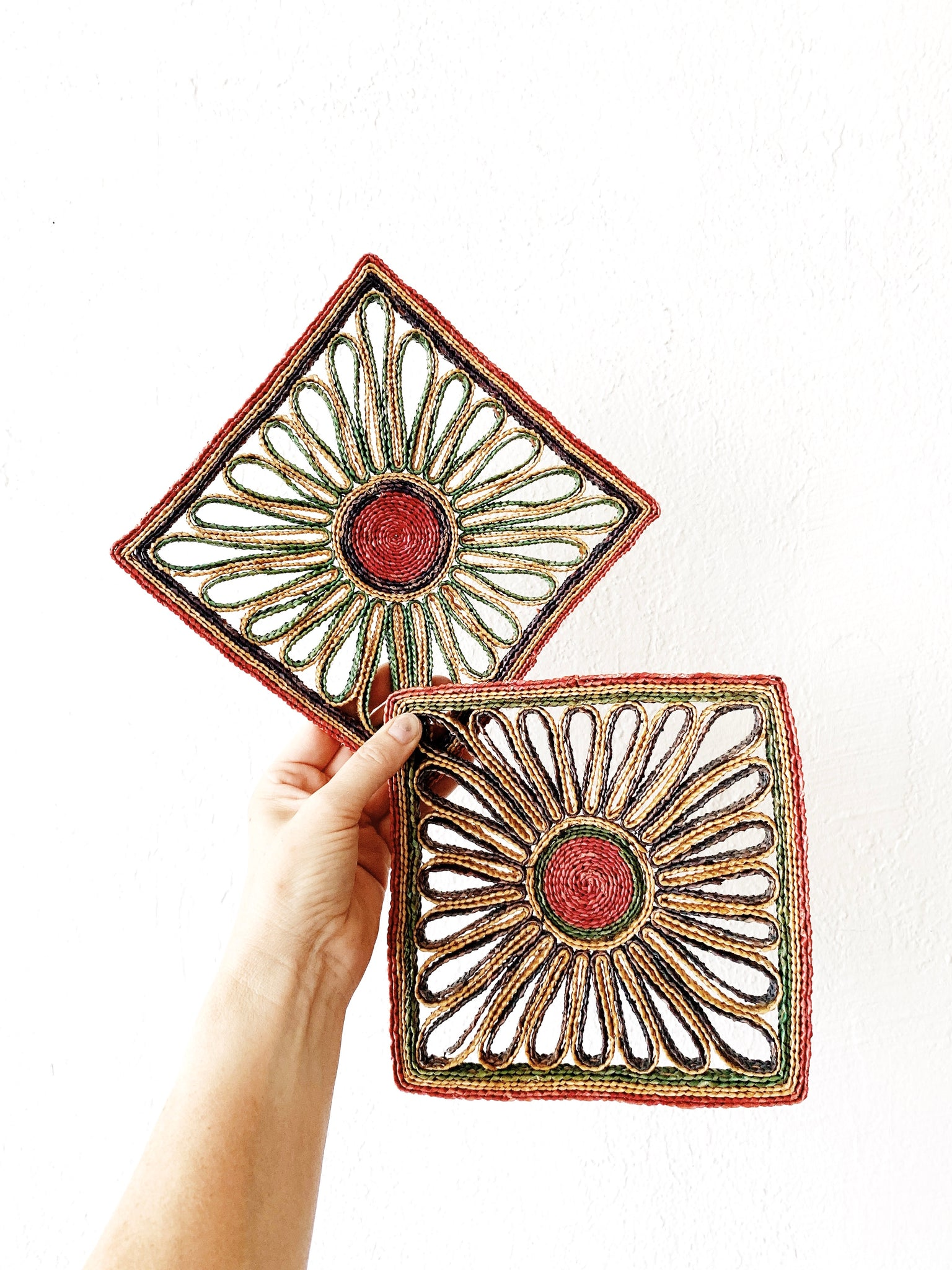Vintage Natural Trivet Collection