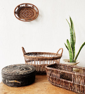 Vintage Decorative Basket