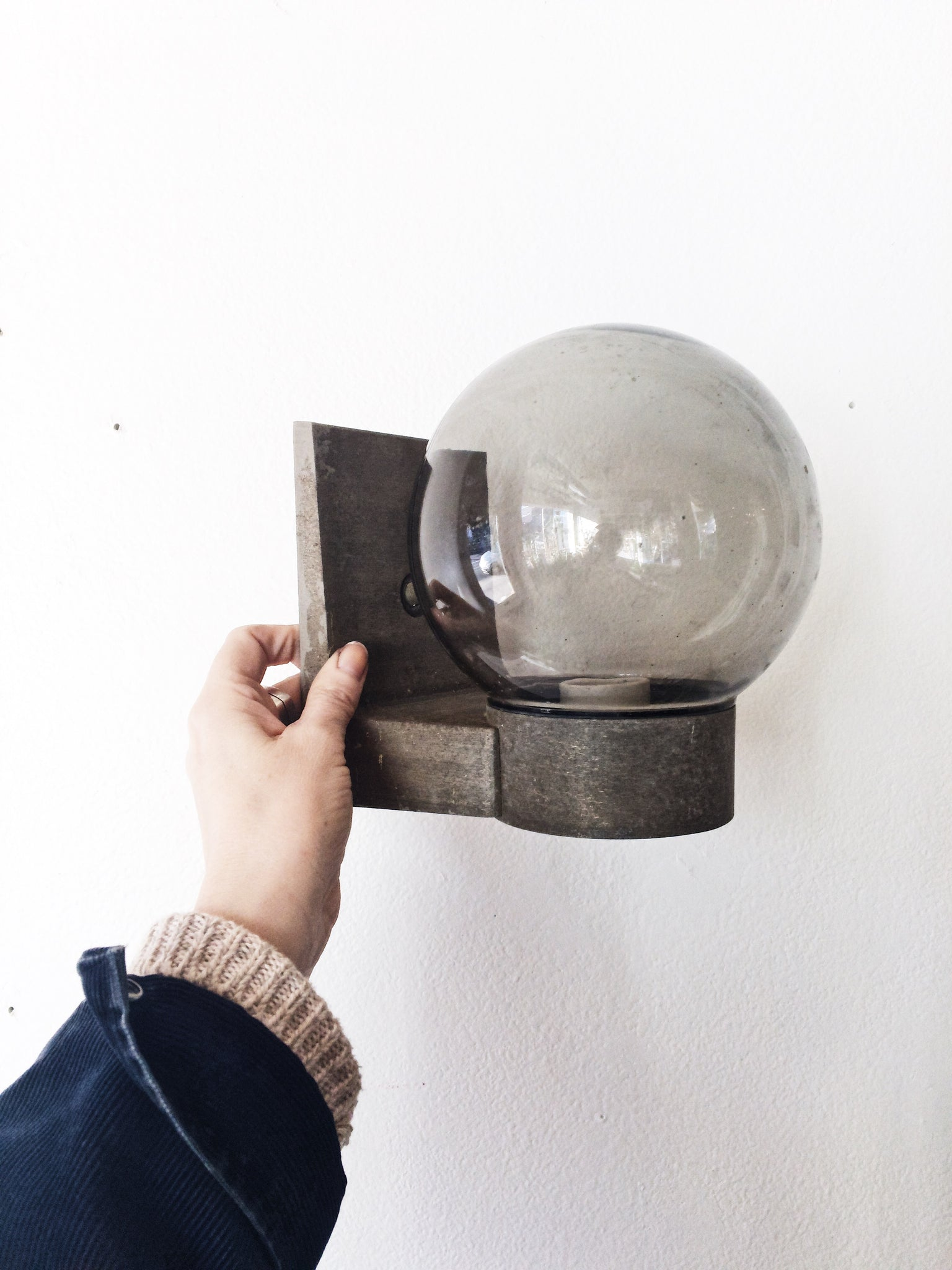 Vintage Hardwired Sconce