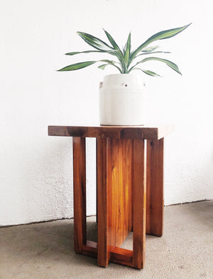 Modern Wood Side Table