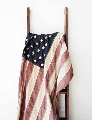 Vintage Fifty Star American Flag