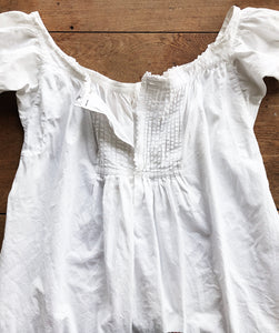 Antique Cotton Nightgown