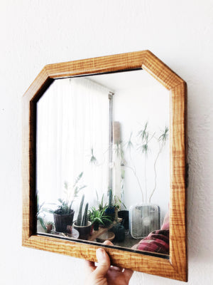 Antique Tiger Maple Mirror
