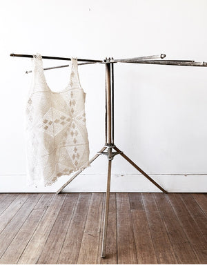 Vintage Spinning Drying Rack