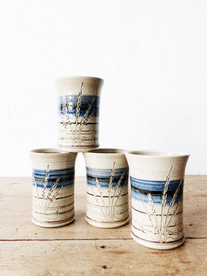 Vintage Barrows Ceramic Cup Set