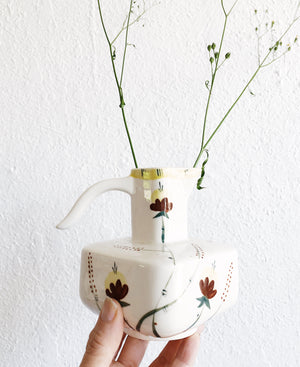 Vintage Handpainted Pitcher
