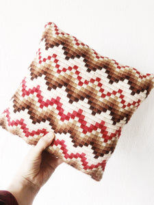 Petite Bargello Pillow