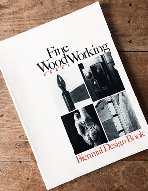 Vintage Fine Woodworking Book