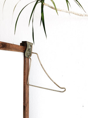 Vintage Industrial Wardrobe Hook