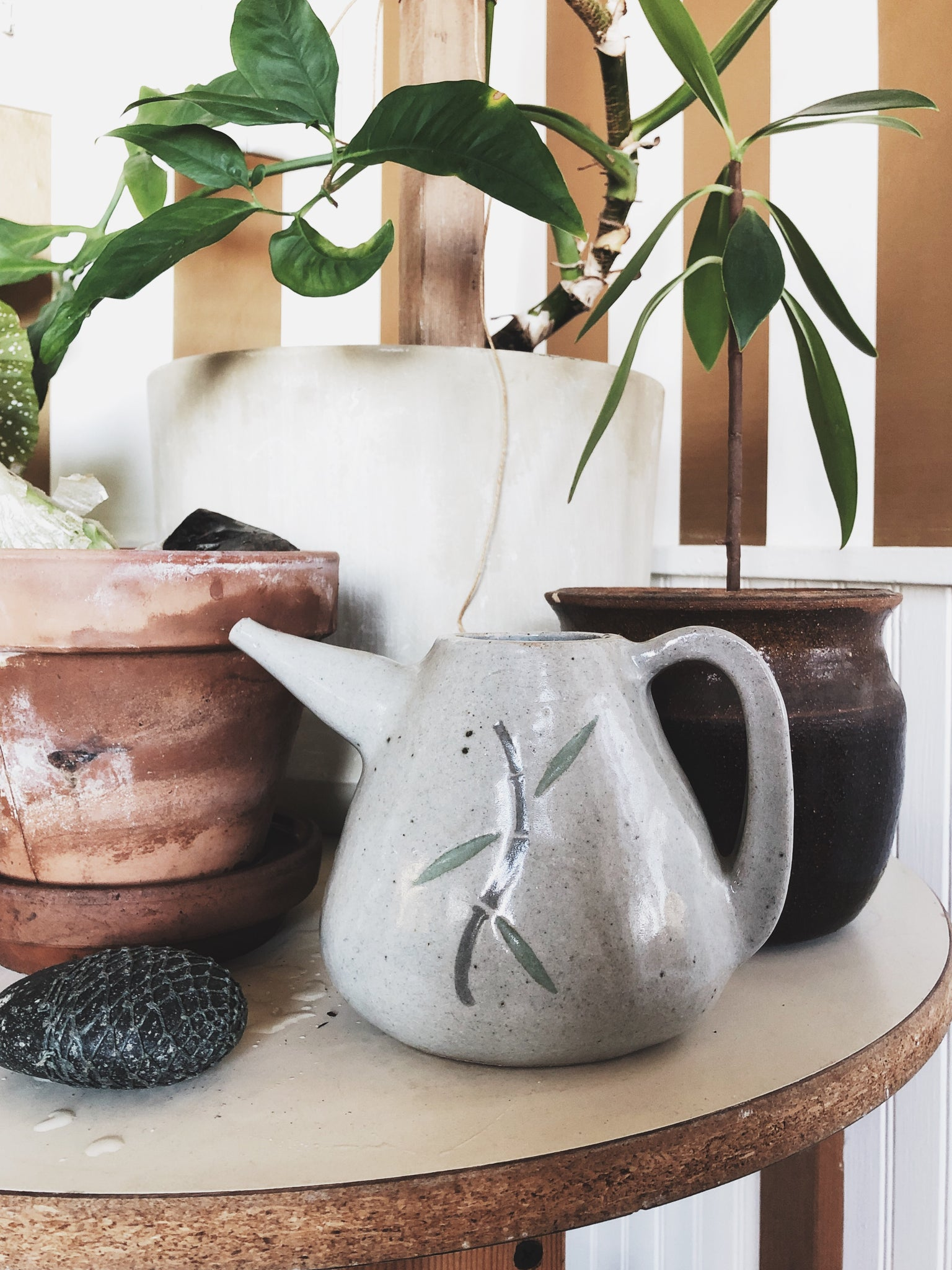 Vintage Ceramic Watering Pot