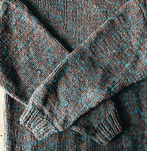 Vintage Italian Wool Flecked Sweater