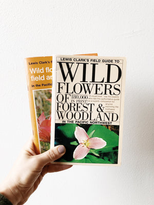 Wildflowers of The Pacific Northwest Field Guides