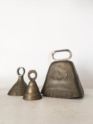 Collection of Vintage Brass Bells