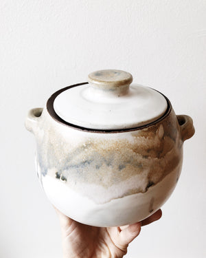 Vintage Ceramic Lidded Vessel