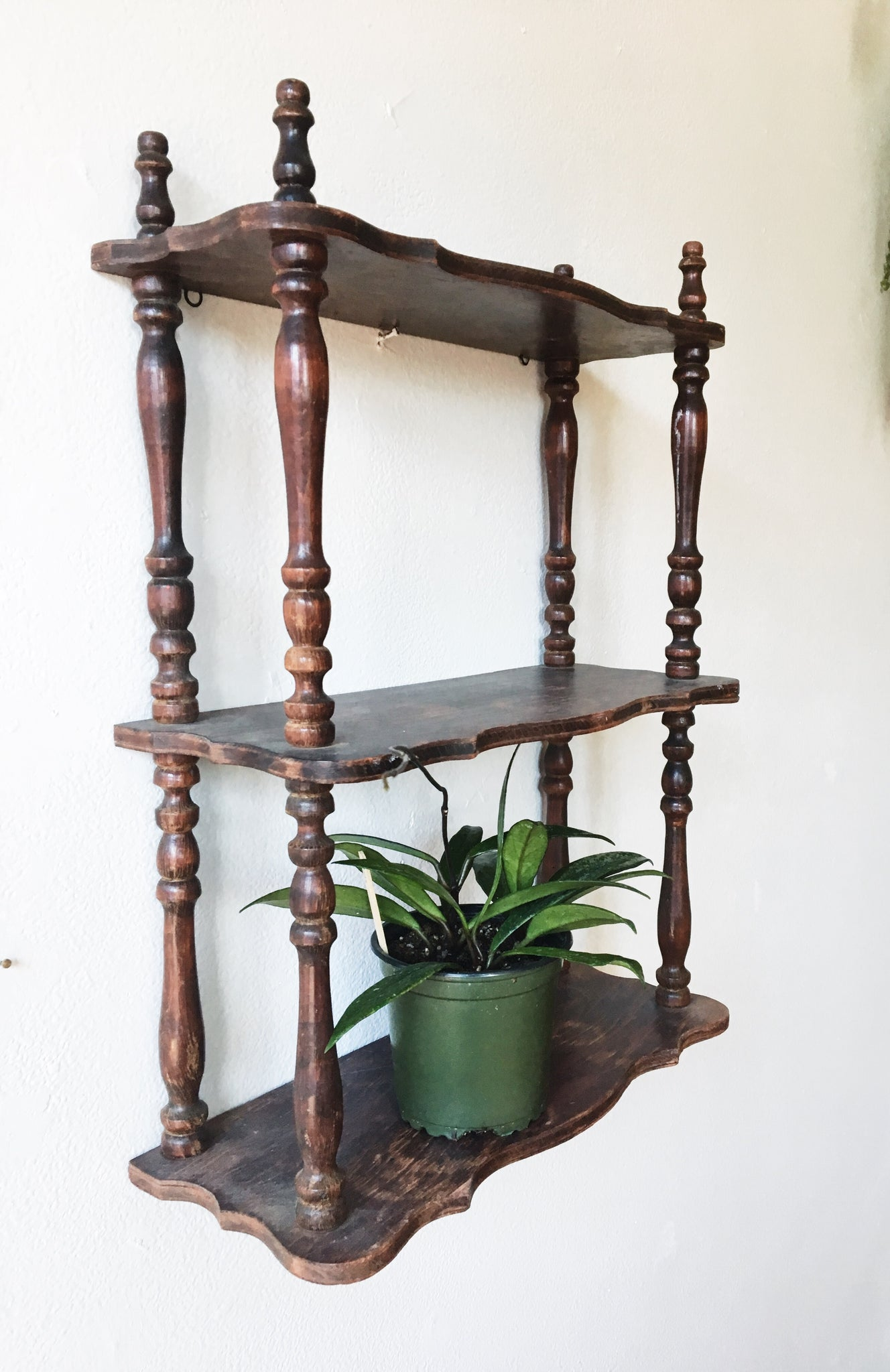 Vintage Spindle shelf