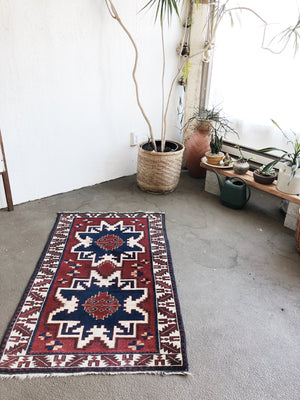 Vintage Turkish Wool Rug