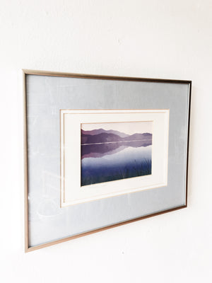 Vintage 'Morning Light' Lithograph