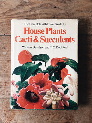 Vintage Houseplant and Cacti Book