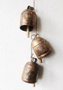 Vintage Brass Temple Bells
