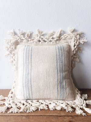 Vintage Indian Cotton Pillow