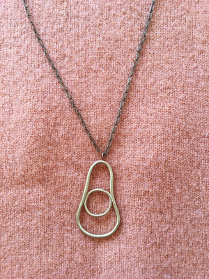 Locally Made Brass Necklace