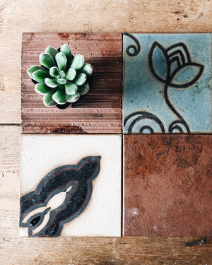 Heavy Clay Stylized Tiles