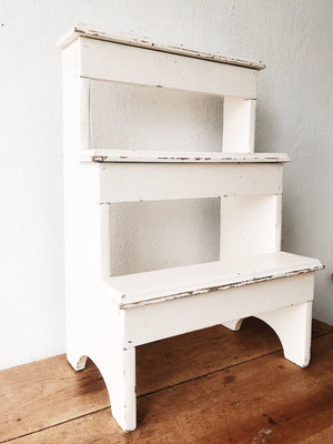 Vintage Ladder Shelf
