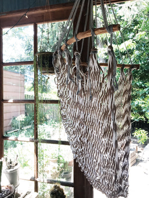 Vintage Hanging Rope Chair