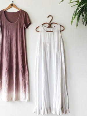 Vintage White Sundress