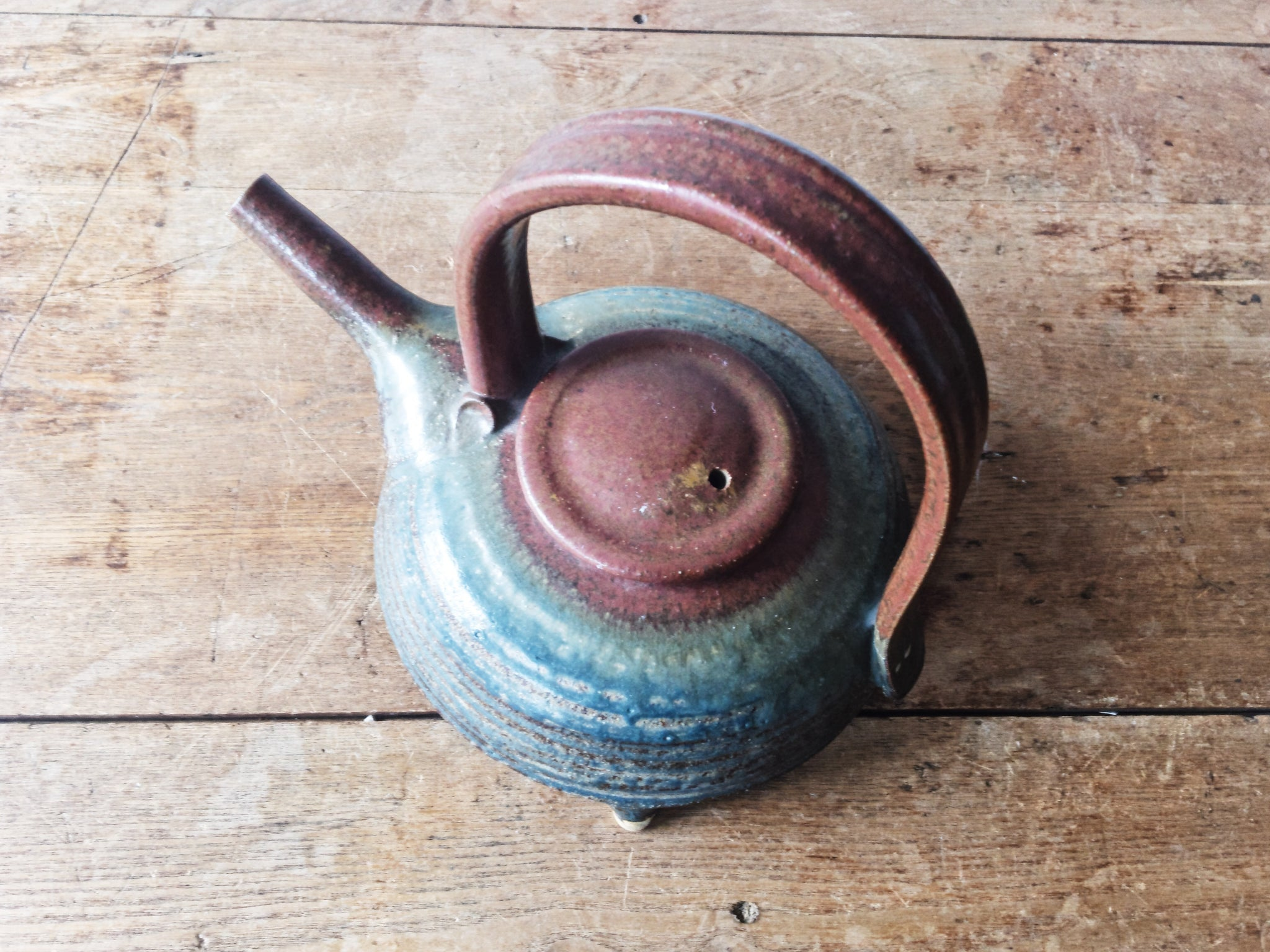RESERVED Handmade Ceramic Kettle